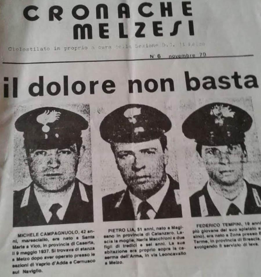 Carabinieri uccisi dal detenuto in permesso premio dal Carcere di Milano Bollate