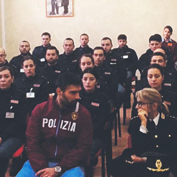 Allievi Vice Ispettori della Polizia di Stato visitano il